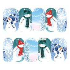 Ваденки, снежни човечета