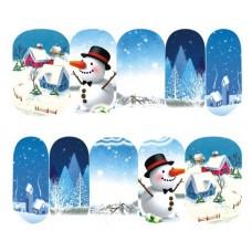 Ваденки, къщички в снега