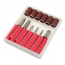 Комплект 6 бр. универсални накрайници с шлайфцилиндри в кутия