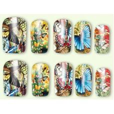 Ваденки, пеперуди цветни