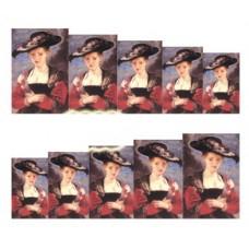Ваденки, Дамата с шапката