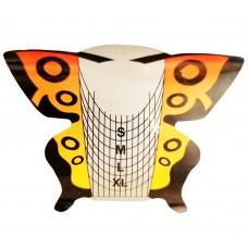 Форми за изграждане, жълто-оранжева пеперуда
