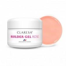 Claresa Builder Rose gel 25ml, бледо розов изграждащ гел