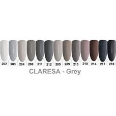 Claresa UV/LED gel polish 5ml, 202 gray