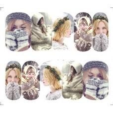 Коледни ваденки, топли ръкавици