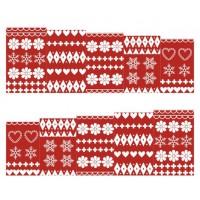 Коледни ваденки, червена Коледа