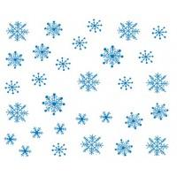 Коледни ваденки, снежинки 5