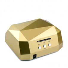 36W UV LED лампа, златен диамант