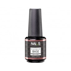 Nai_s Rubber Base UV/LED 15ml, прозрачна ръбър база