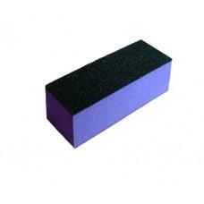 Полиращ блок за нокти 3 страни, лилав