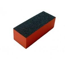 Полиращ блок за нокти 3 страни, оранжев