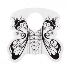 Форми за изграждане, 500 бр. черно-бяла пеперуда