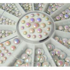 Камъчета перли в кутийка, 12 размера