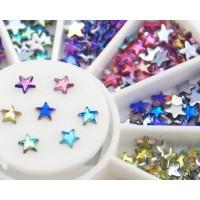 Камъчета звезди в кутийка, 12 цвята