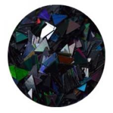 Конфети, триъгълни черни