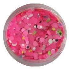 Конфети, розови