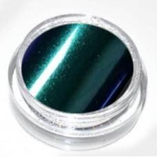 Пигмент огледален, тъмно зелено-син
