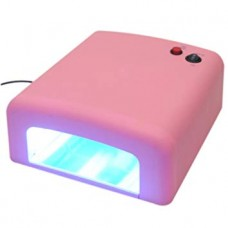 36W UV лампа, розова