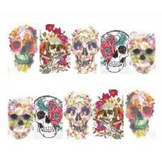 Ваденки, черепи и цветя