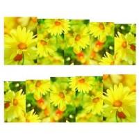 """Ваденки """"Жълти цветя"""""""