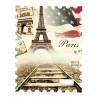 """Винтидж ваденки """"По път към Париж"""""""