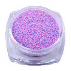 Захар за нокти, розово-лилав микс